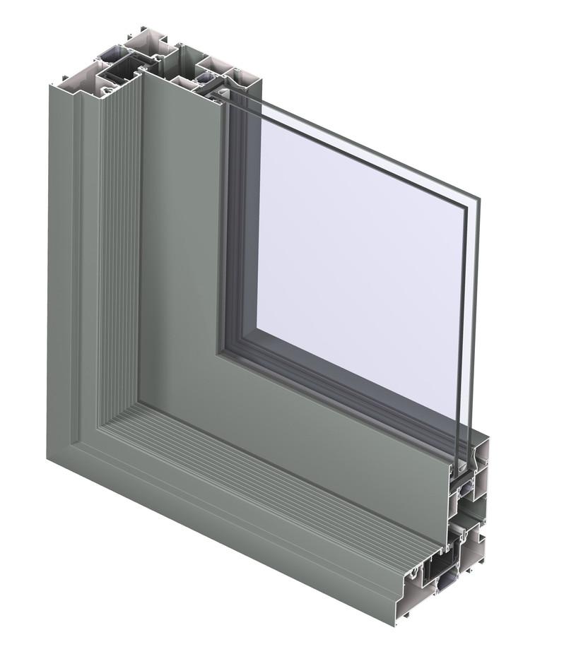 Profile din aluminiu pentru usi glisante CP 130 REYNAERS ALUMINIUM - Poza 29