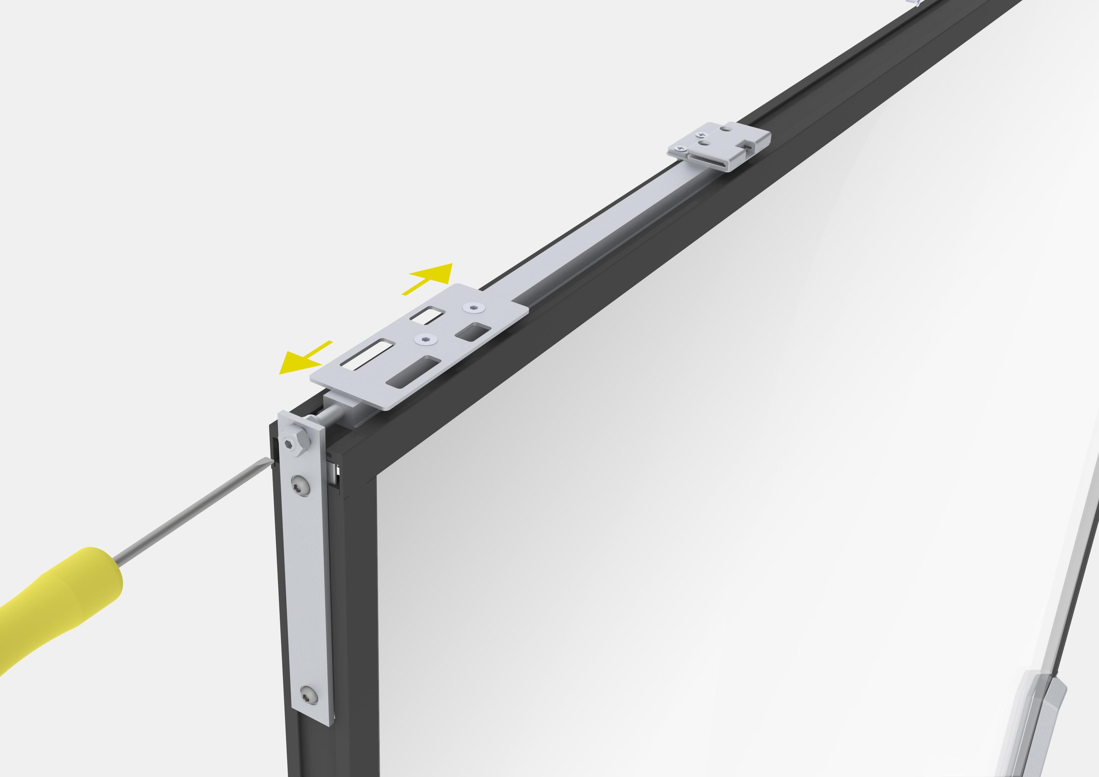 Profile din aluminiu pentru usi glisante Hi-Finity REYNAERS ALUMINIUM - Poza 50