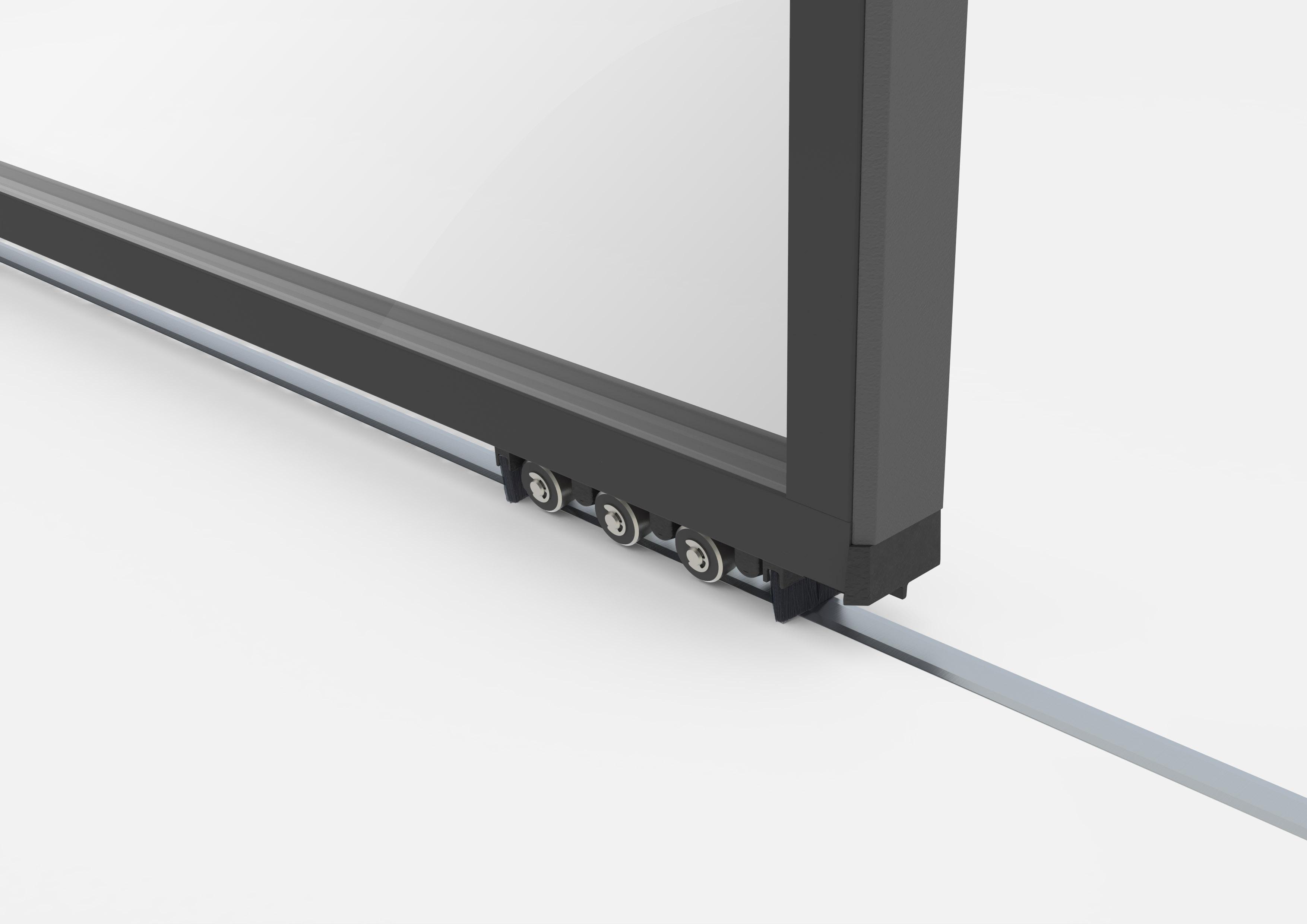 Profile din aluminiu pentru usi glisante Hi-Finity REYNAERS ALUMINIUM - Poza 53