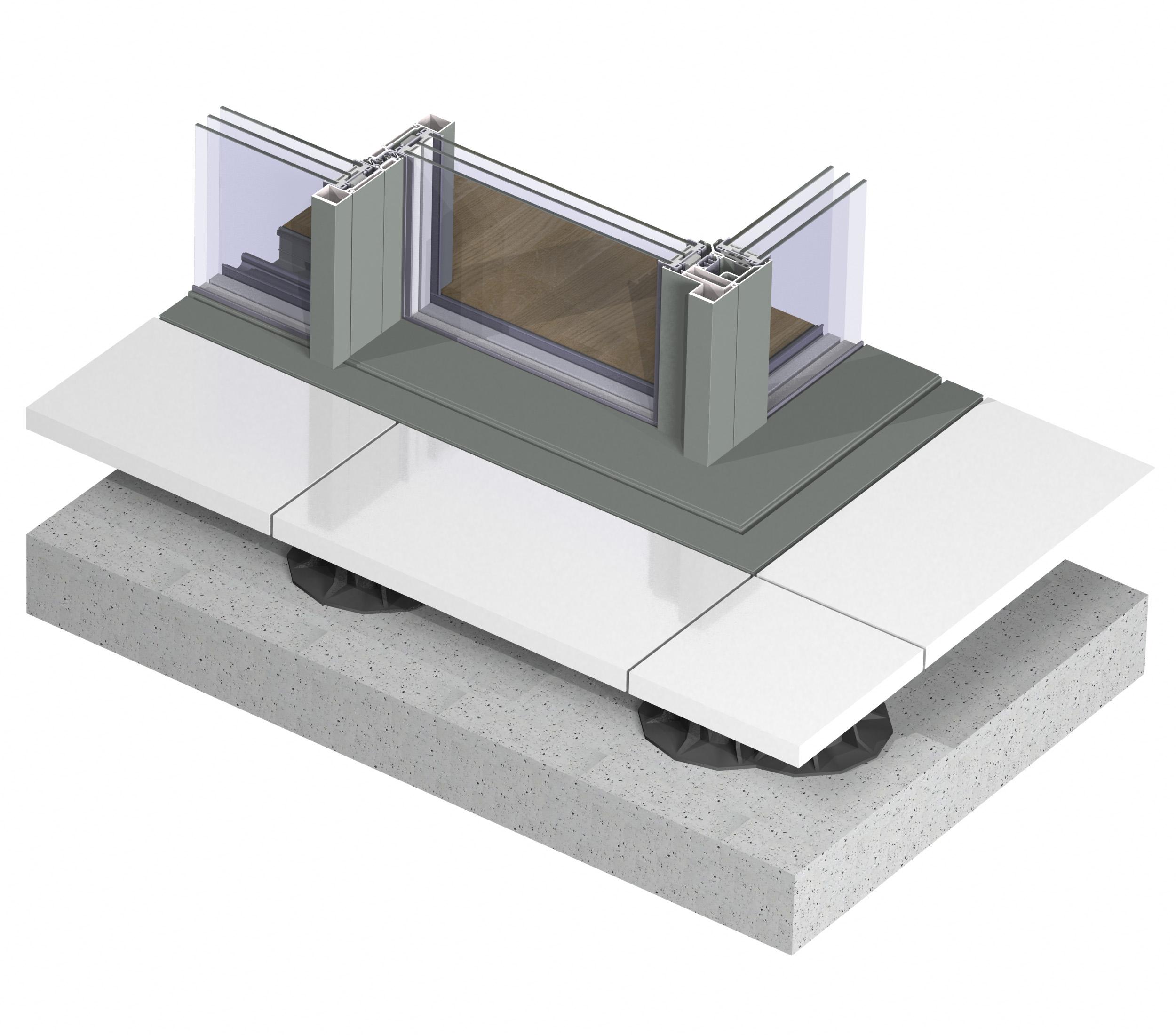 Profile din aluminiu pentru usi glisante Hi-Finity REYNAERS ALUMINIUM - Poza 56