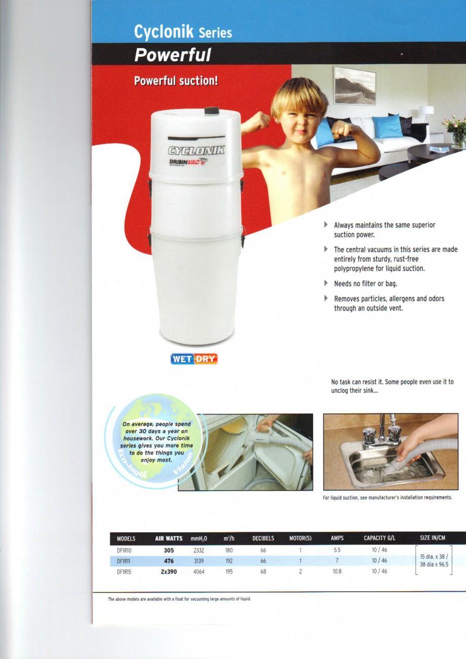 Pagina 4 - Aspiratoare centrale de praf DRAINVAC AUTOMATIK, AUTOMATIK Comercial, ATOMIK, CYCLONIK,...