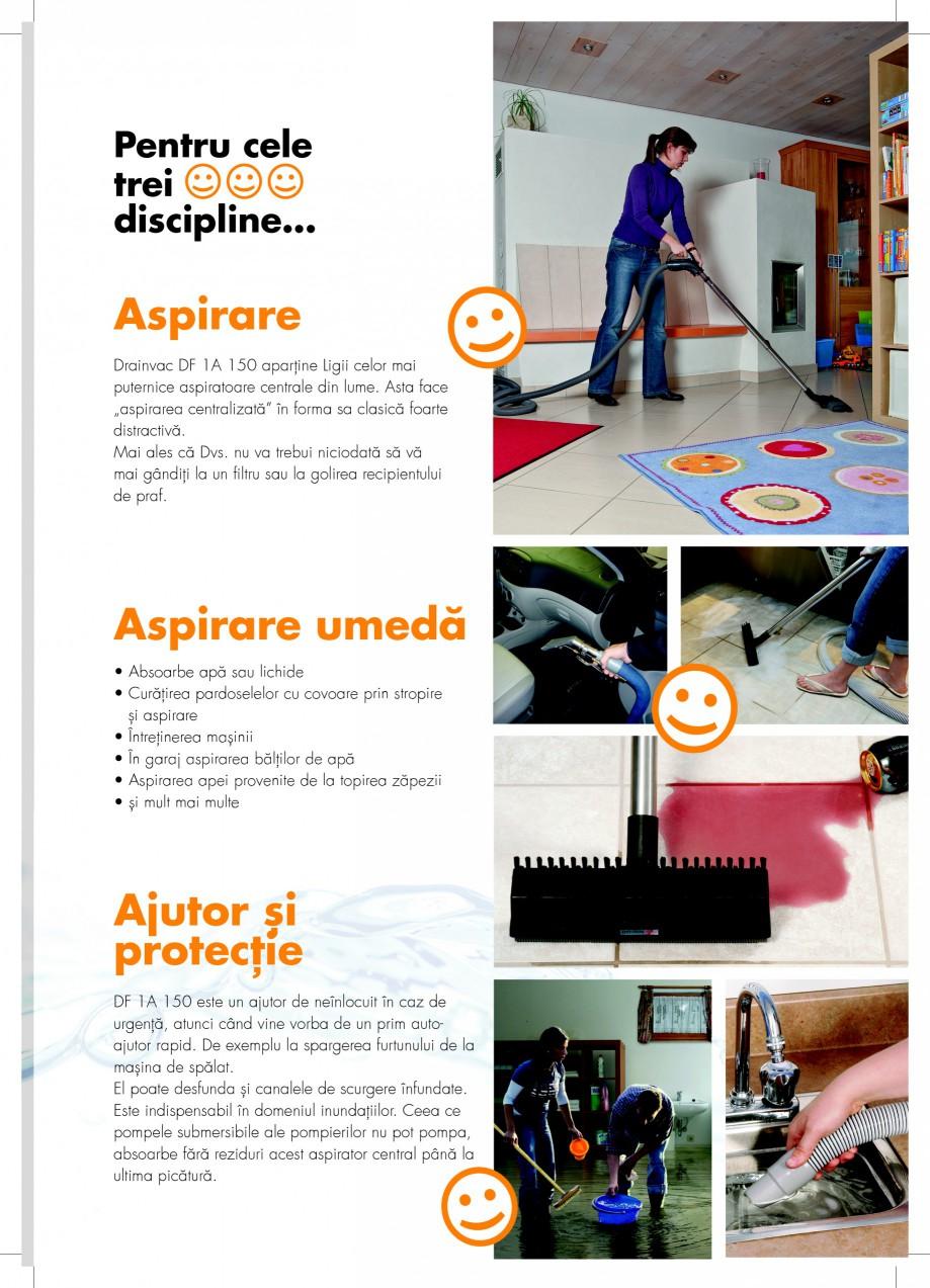 Pagina 3 - Aspirator central de praf  DRAINVAC AUTOMATIK Fisa tehnica Romana ume. Asta face...