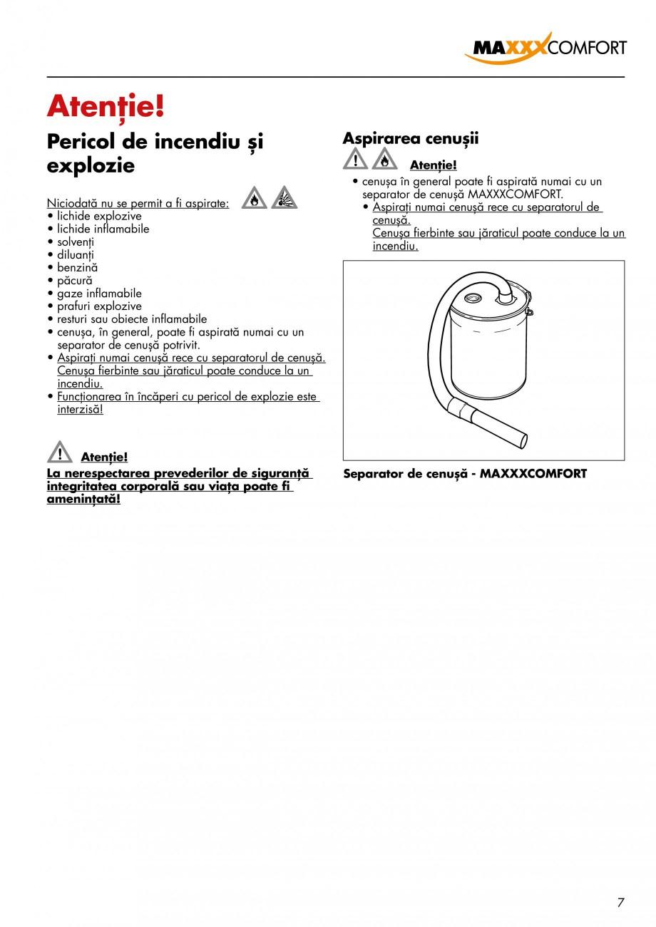 Pagina 7 - Aspirator central de praf rezidential DRAINVAC AUTOMATIK Instructiuni montaj, utilizare...
