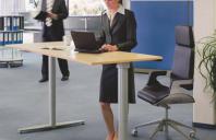 Mese cu inaltime reglabila SUSPA va ofera mese cu inaltime reglabila potrivita pentru birou si