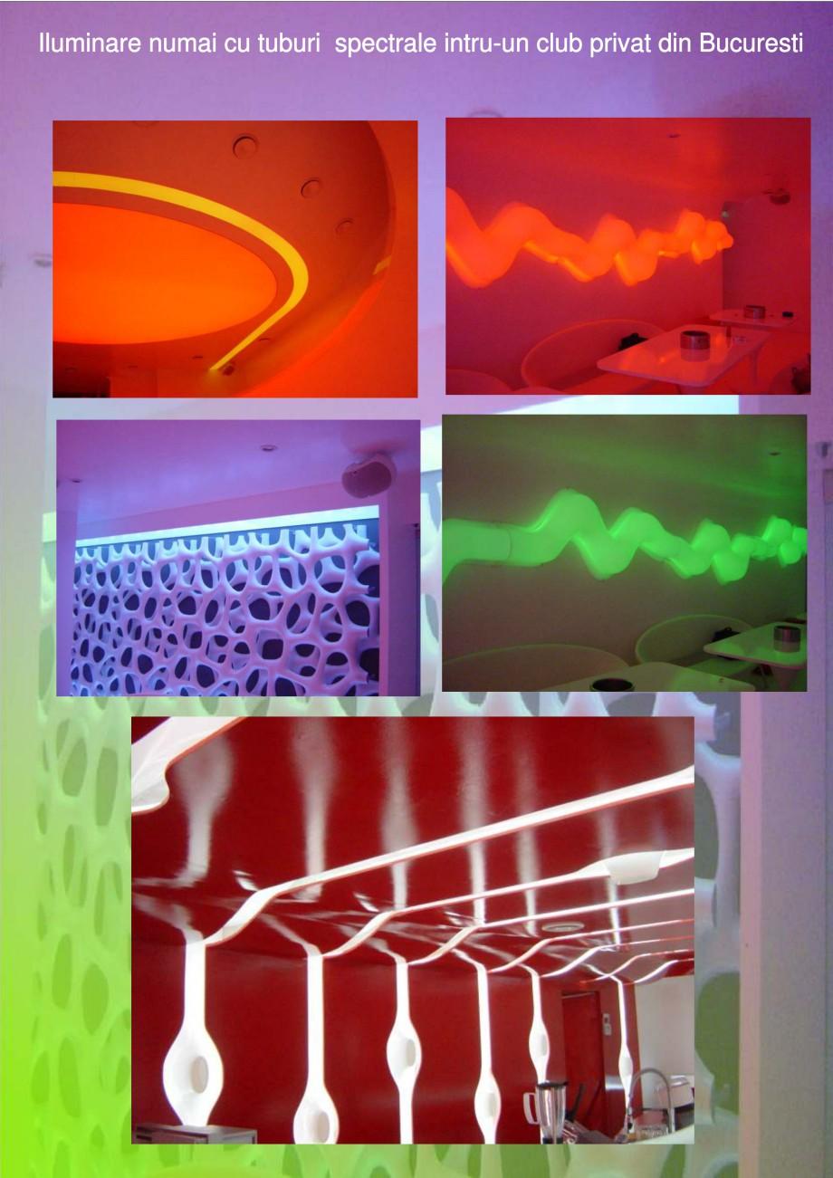 Pagina 4 - Solutii de iluminat interior si exterior cu tuburi Cold Catode - Arhitecti CARALUX...