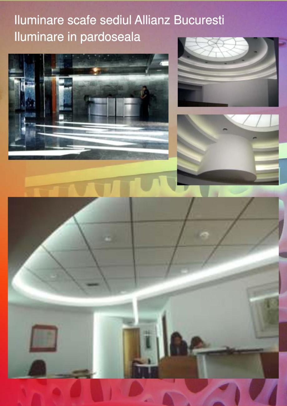 Pagina 5 - Solutii de iluminat interior si exterior cu tuburi Cold Catode - Arhitecti CARALUX...