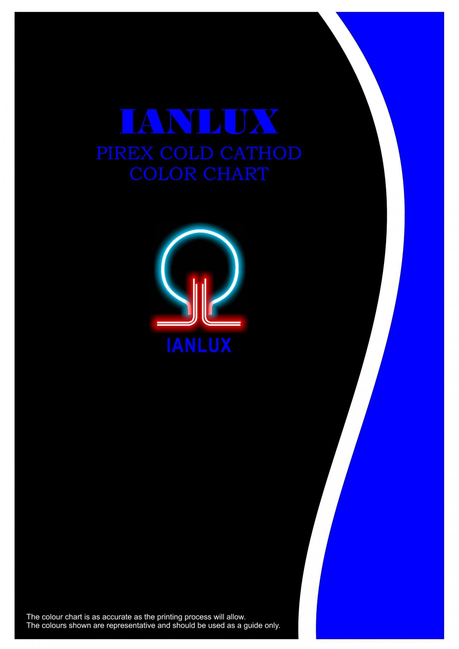 Pagina 1 - Color chart for I-LITE system CARALUX Paletare si texturi Engleza IANLUX PIREX COLD...