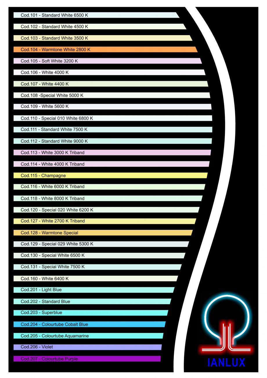 Pagina 2 - Color chart for I-LITE system CARALUX Paletare si texturi Engleza d.205 - Colourtube...
