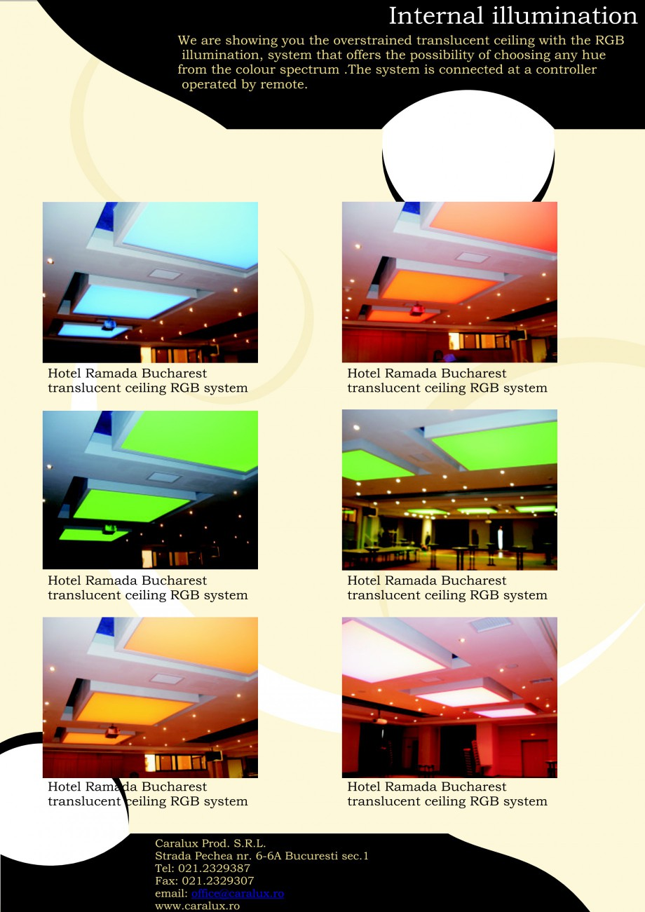 Pagina 5 - Iluminarea interioare - Neon Light   CARALUX Catalog, brosura Engleza at offers the...