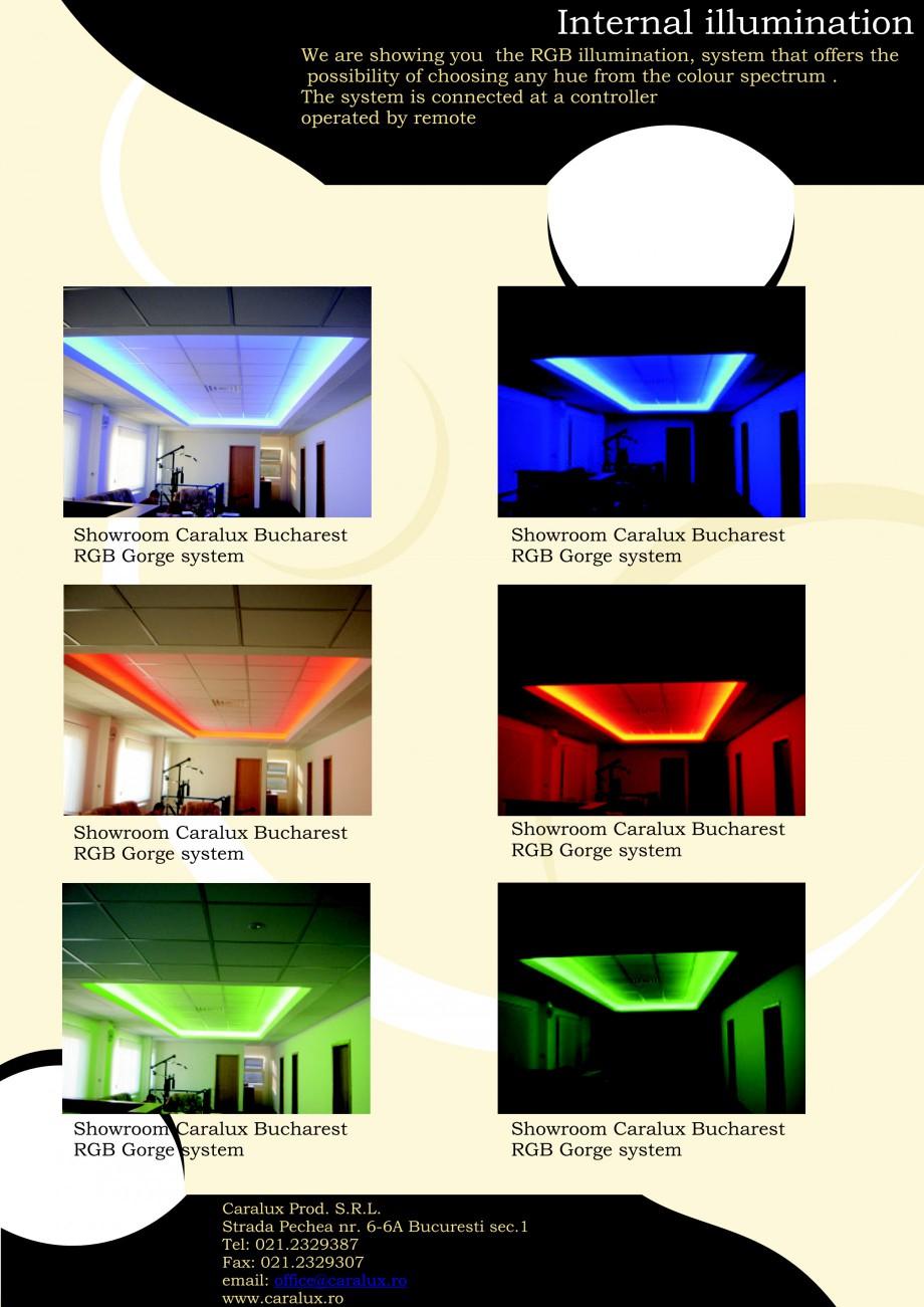 Pagina 6 - Iluminarea interioare - Neon Light   CARALUX Catalog, brosura Engleza - Bucharest...