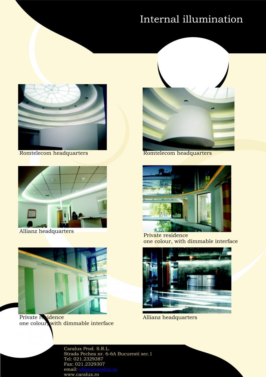 Pagina 12 - Iluminarea interioare - Neon Light   CARALUX Catalog, brosura Engleza