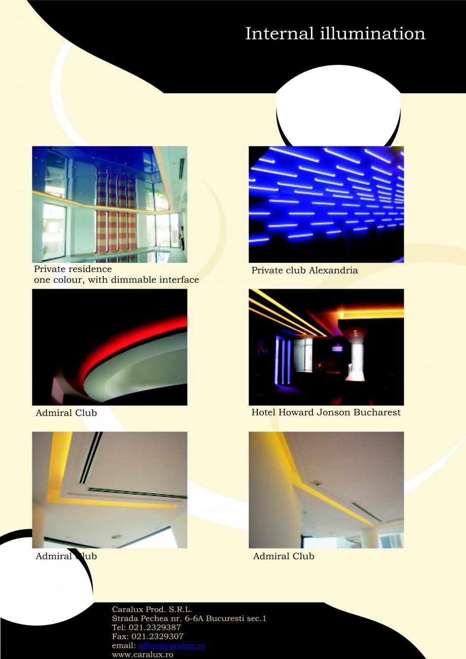 Pagina 13 - Iluminarea interioare - Neon Light   CARALUX Catalog, brosura Engleza