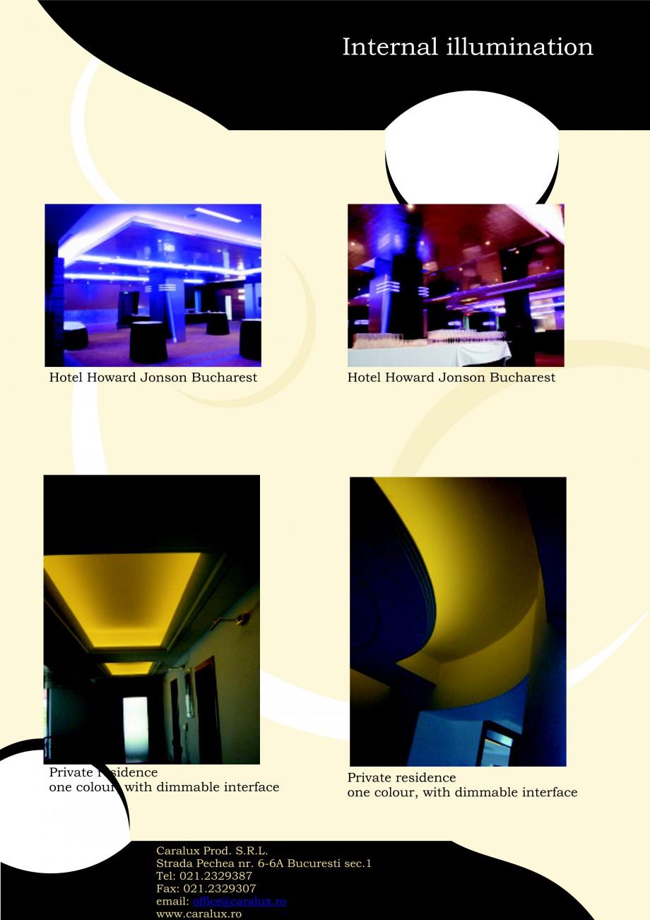 Pagina 14 - Iluminarea interioare - Neon Light   CARALUX Catalog, brosura Engleza