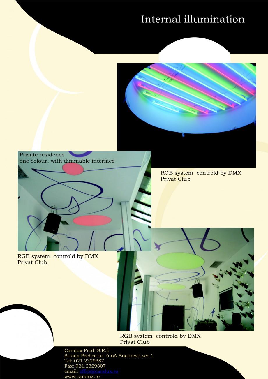Pagina 17 - Iluminarea interioare - Neon Light   CARALUX Catalog, brosura Engleza