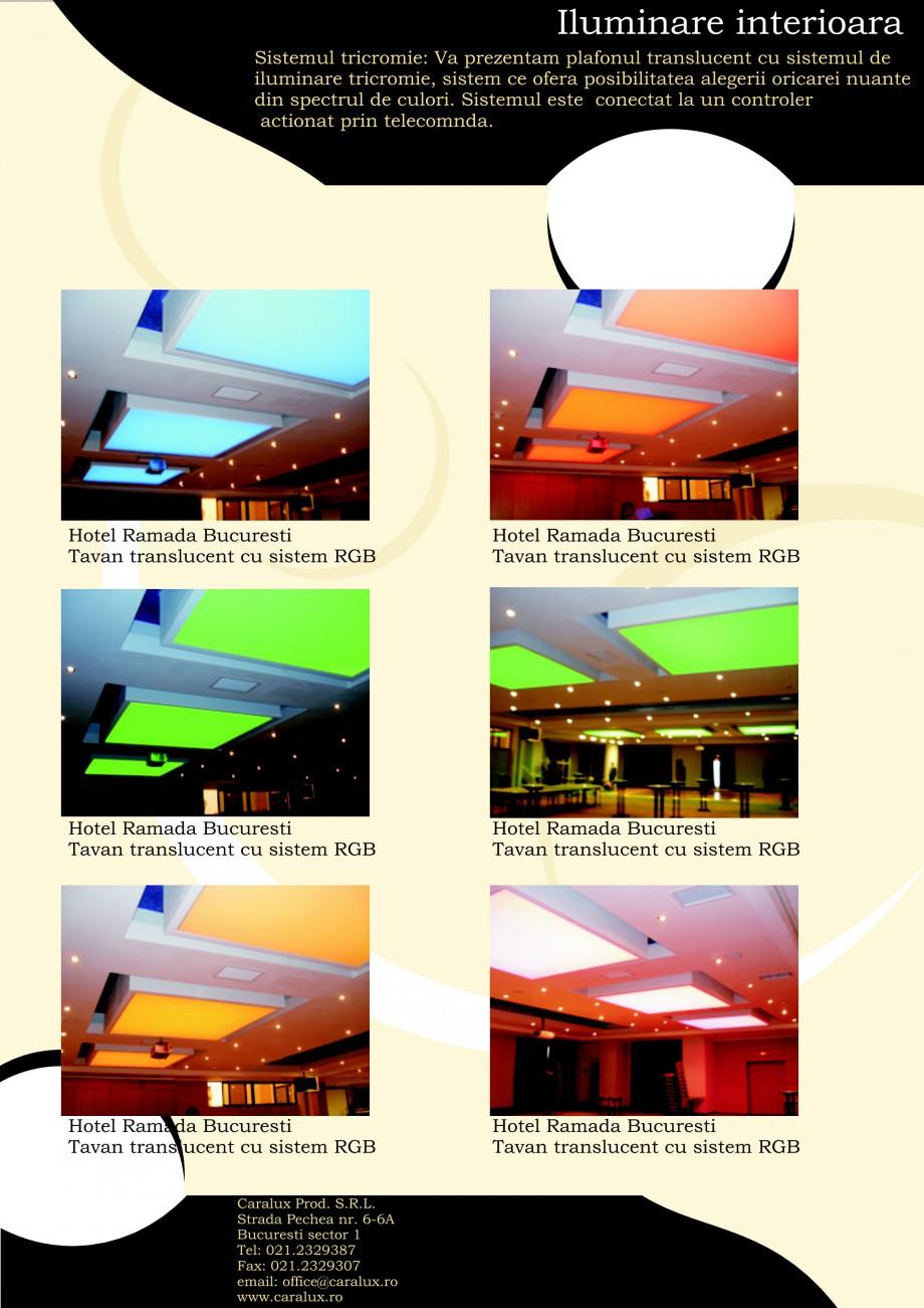 Pagina 5 - Iluminarea interioare - Neon Light CARALUX Catalog, brosura Romana n spectrul de culori. ...