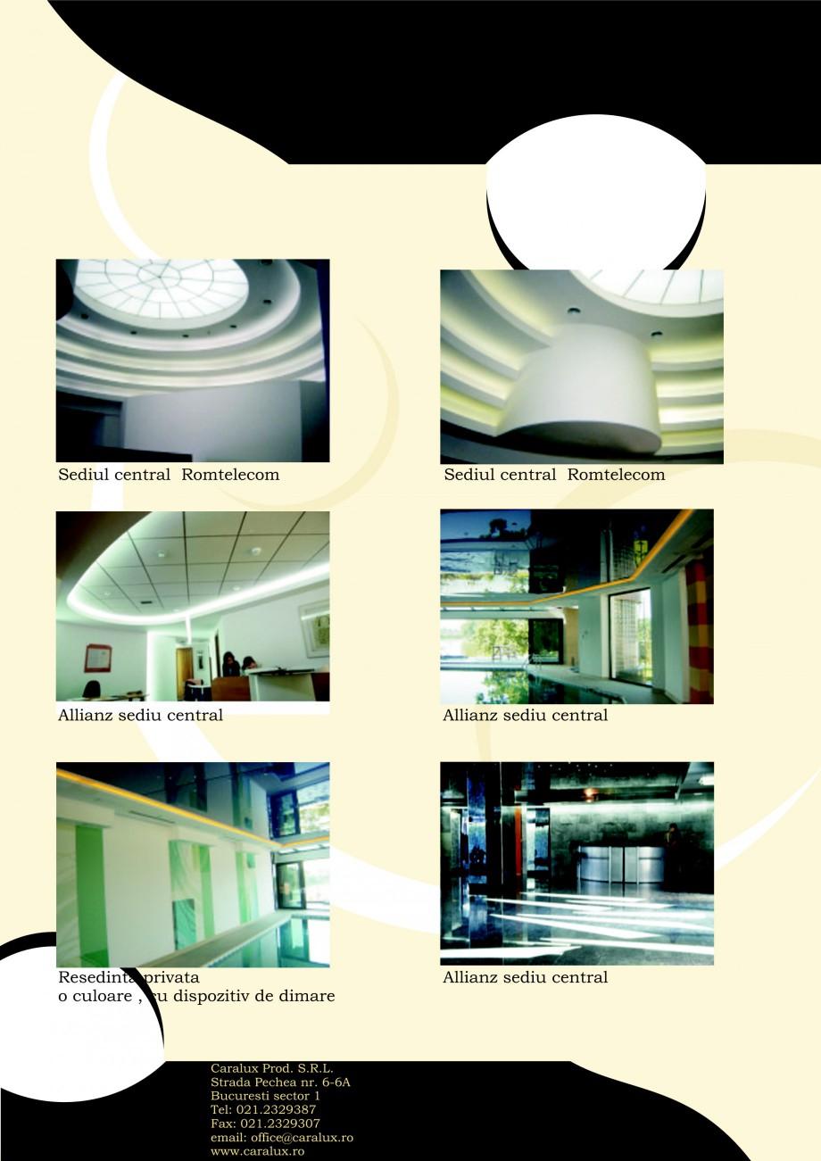 Pagina 12 - Iluminarea interioare - Neon Light CARALUX Catalog, brosura Romana nterioara  Club...