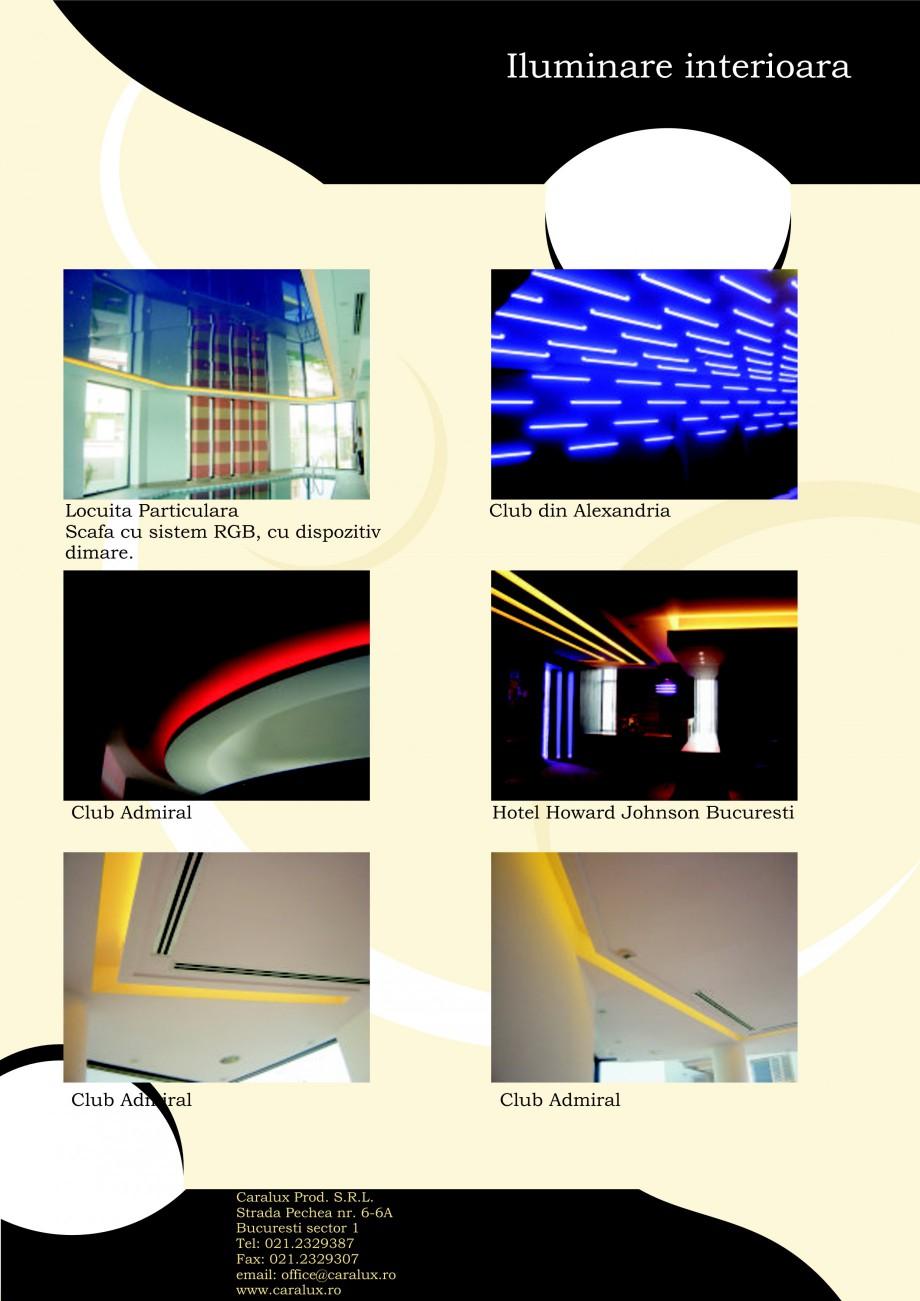 Pagina 13 - Iluminarea interioare - Neon Light CARALUX Catalog, brosura Romana