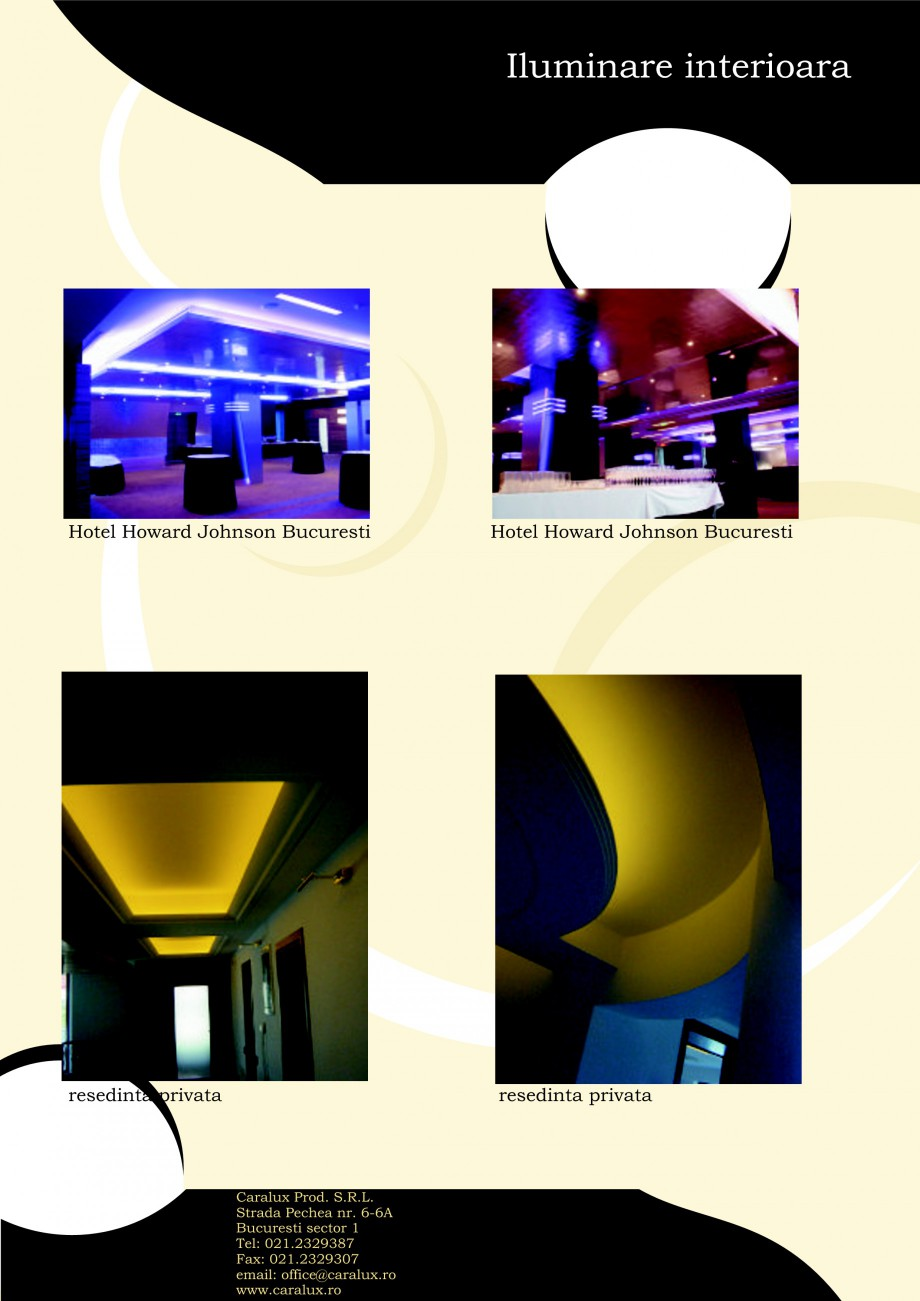 Pagina 14 - Iluminarea interioare - Neon Light CARALUX Catalog, brosura Romana