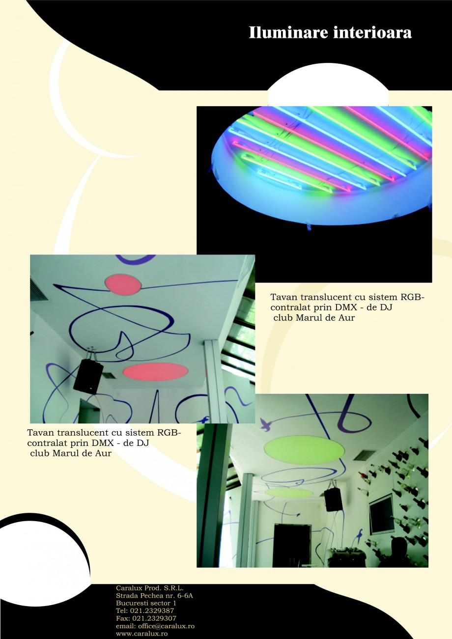 Pagina 17 - Iluminarea interioare - Neon Light CARALUX Catalog, brosura Romana