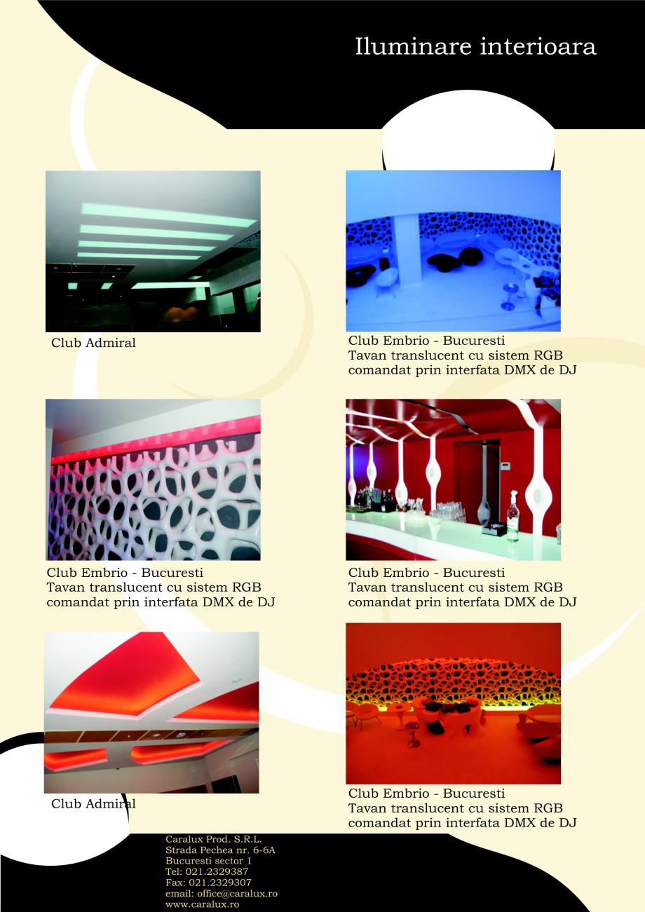 Pagina 19 - Iluminarea interioare - Neon Light CARALUX Catalog, brosura Romana