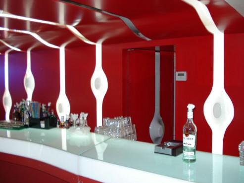 Lucrari de referinta Sistem de iluminare - Club Embrio CARALUX - Poza 1