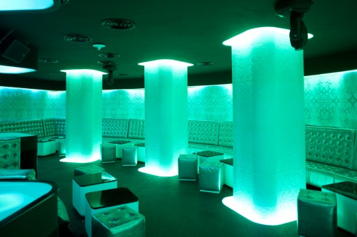 Lucrari de referinta Sistem de iluminare - Club Shade CARALUX - Poza 12