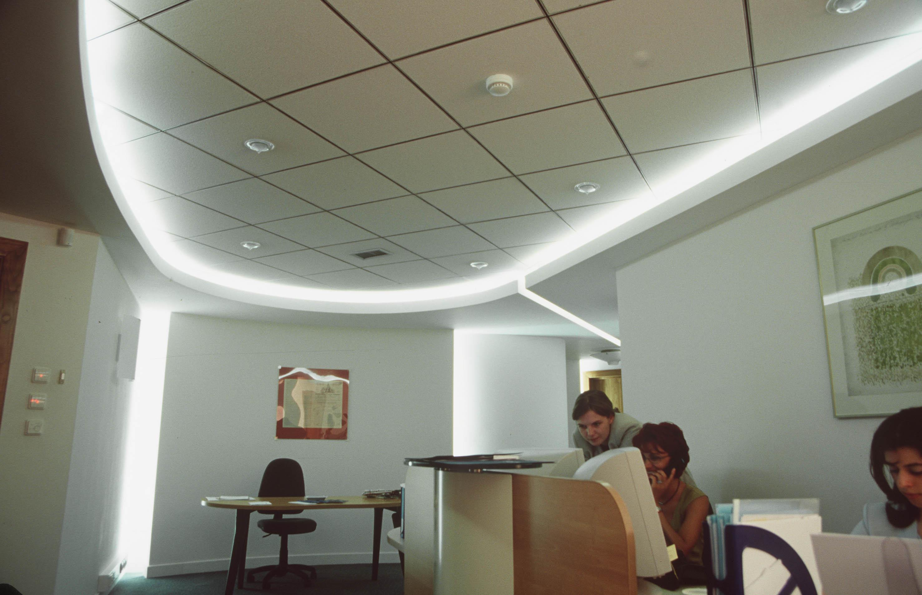 Sistem de iluminare - Sediu Allianz CARALUX - Poza 4