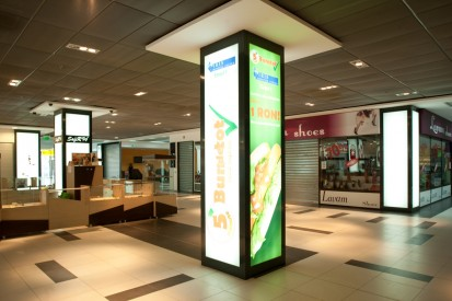 Sistem de iluminare - Stalpi Iris Mall Sistem de iluminare - Stalpi Iris Mall