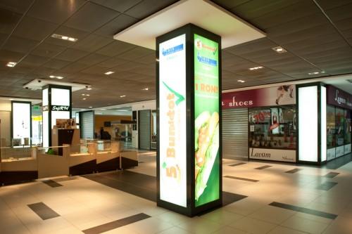 Sistem de iluminare - Stalpi Iris Mall CARALUX - Poza 1