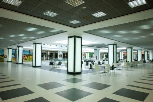 Sistem de iluminare - Stalpi Iris Mall CARALUX - Poza 2