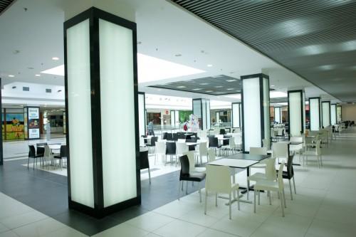Lucrari de referinta Sistem de iluminare - Stalpi Iris Mall CARALUX - Poza 3