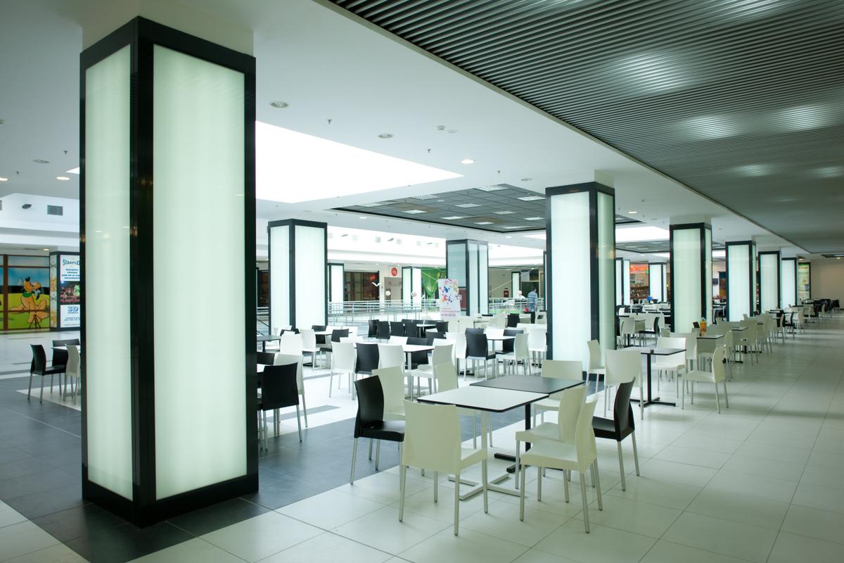 Sistem de iluminare - Stalpi Iris Mall CARALUX - Poza 4