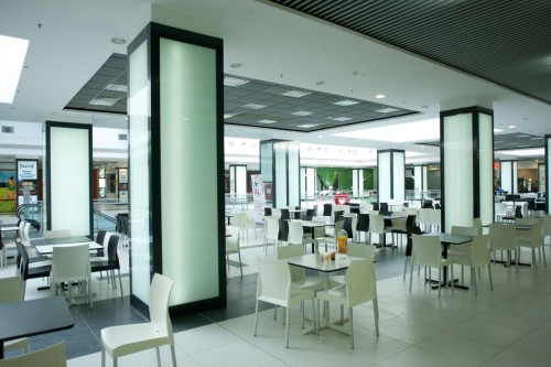 Sistem de iluminare - Stalpi Iris Mall CARALUX - Poza 5