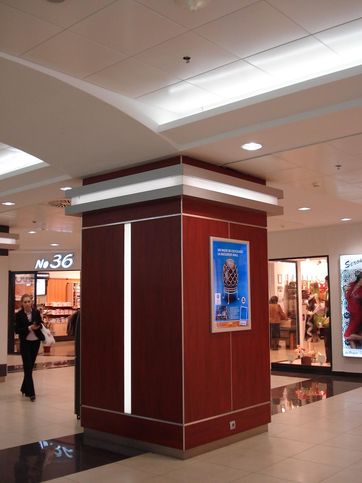 Sistem de iluminare - Stalpi Iris Mall CARALUX - Poza 7