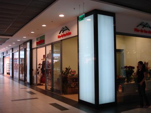 Lucrari de referinta Sistem de iluminare - Stalpi Iris Mall CARALUX - Poza 9