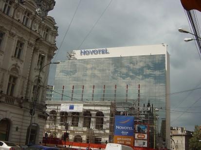 Sistem de iluminare - Hotel Novotel Sistem de iluminare - Hotel Novotel