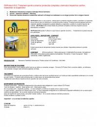 Tratament pentru protectia lemnului impotriva cariilor, insectelor si ciupercilor