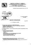 Tratament pentru lemn - Raport incercare hidrofuge conform STAS 10787-77 Nordcoll - AGREMENT - OilProtect 612