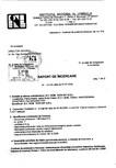 Tratament pentru lemn - Raport incercare impotriva Linnaeus conform SR EN 46-1-2005 Nordcoll - AGREMENT -
