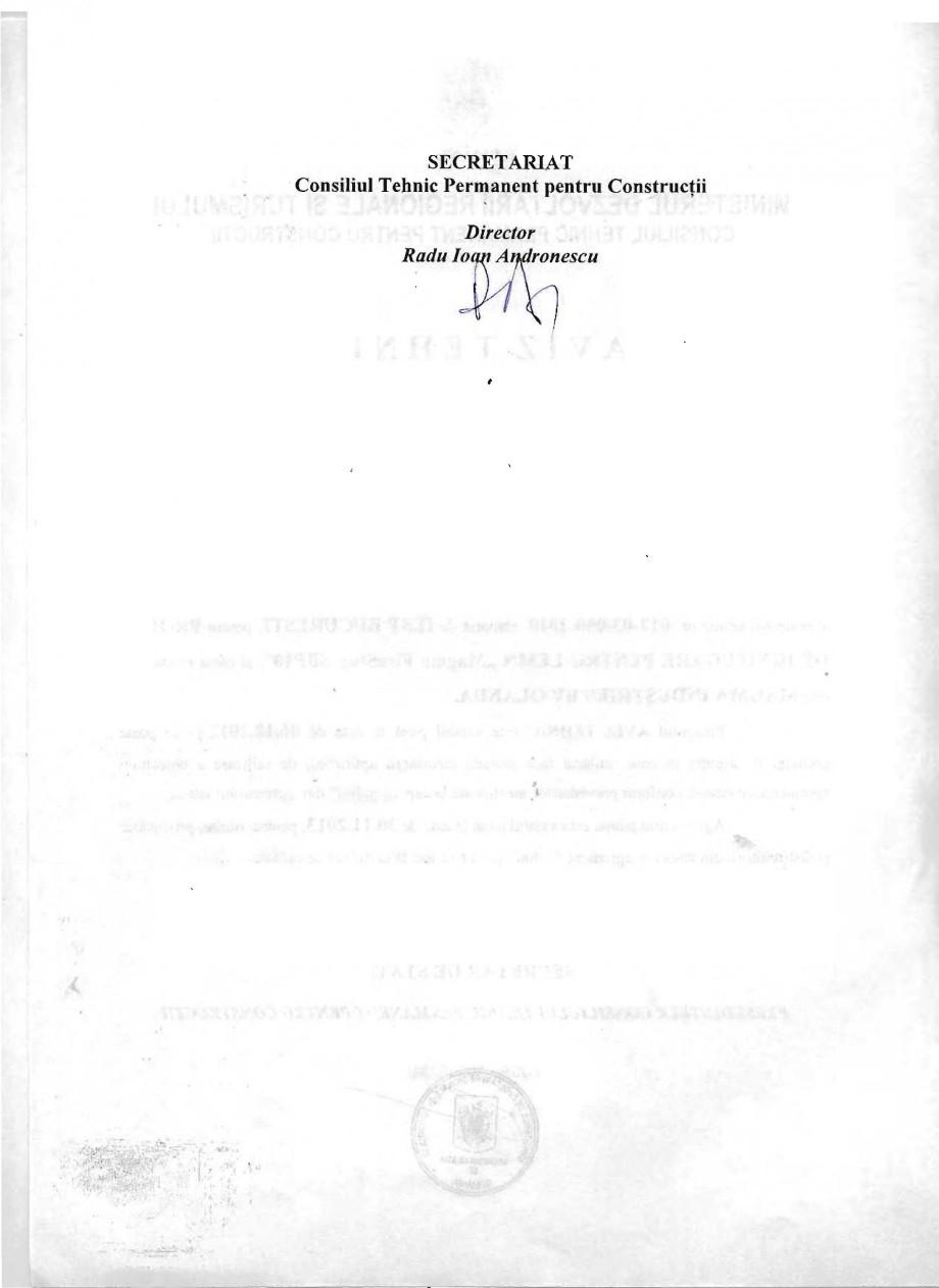Pagina 2 - Produs pentru ignifugarea lemnului - Aviz tehnic Magma International MAGMA FIRESTOP SBP10...