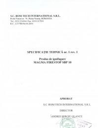 Produs pentru ignifugarea lemnului - Siguranta si utilizare