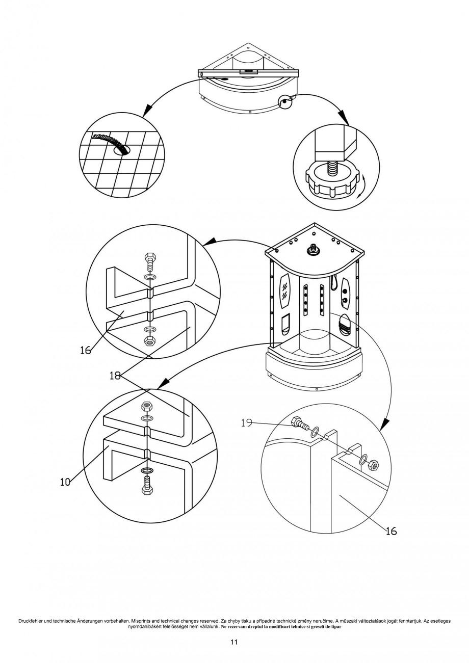 instructiuni montaj utilizare cabina de dus completa smj03 sanotechnik cabine de dus cabine de. Black Bedroom Furniture Sets. Home Design Ideas