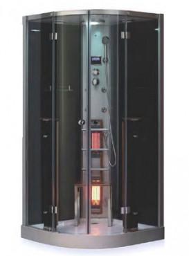 Cabina de dus cu baie de aburi & sauna cu infrarosu SANOTECHNIK - Poza 1