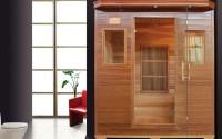 Saune cu infrarosu, cu rezistente ceramice sau Carbon-Magneziu SANOTECHNIK ofera saune cu infrarosu, saune nordice, saune cu rezistente ceramica si saune cu rezistente Carbon-Magneziu din lemn de brad, brad canadian sau cedru