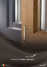 Usi de exterior din lemn-aluminiu uni_one