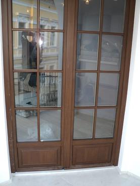 Usi de exterior din lemn-aluminiu  uni_one - Poza 3