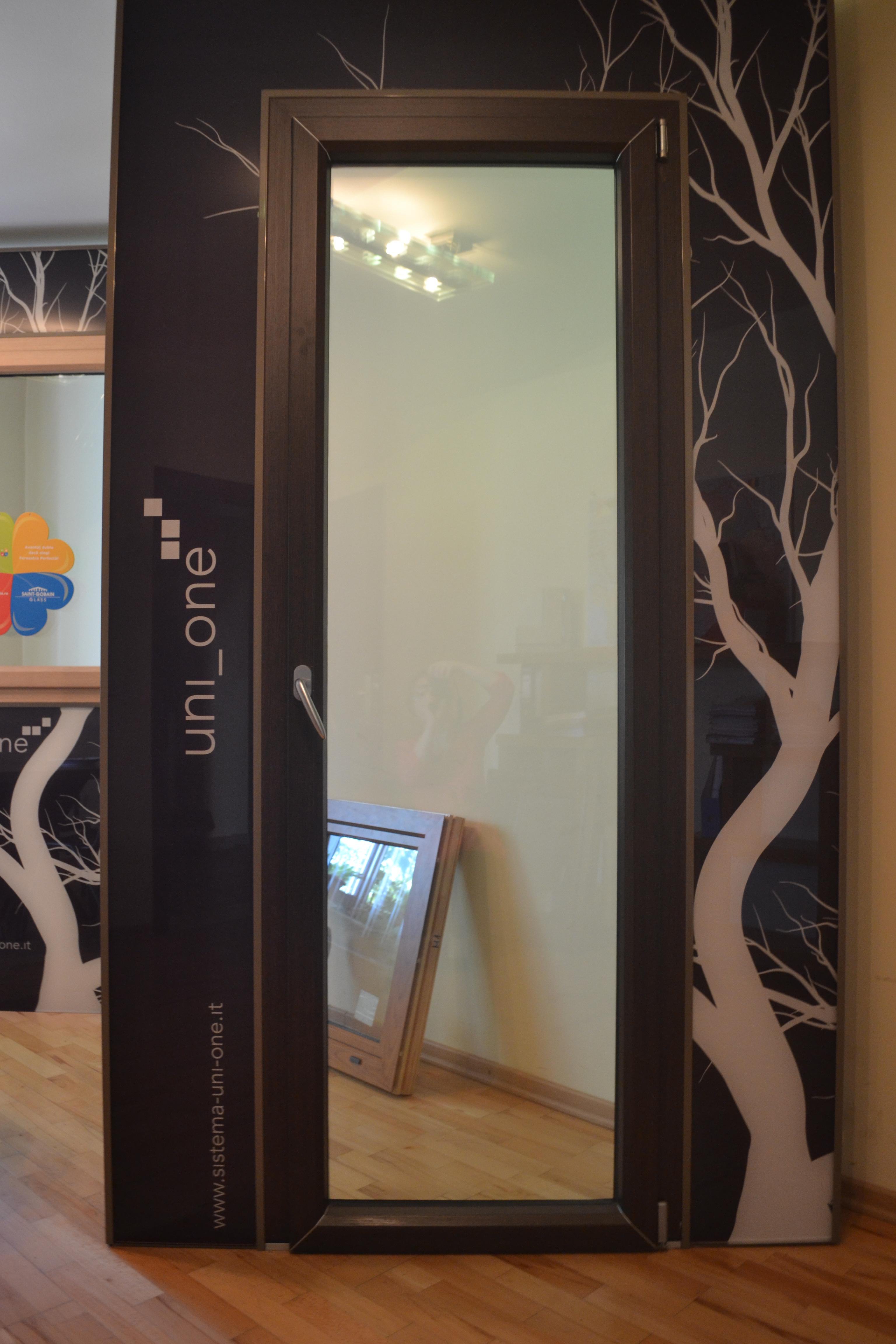 Usi de exterior din lemn-aluminiu  uni_one - Poza 5