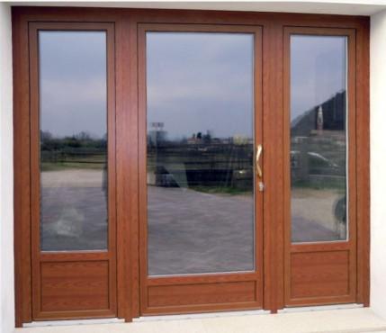 Usi de exterior din lemn-aluminiu  uni_one - Poza 8
