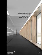 Pereti cortina lemn-aluminiu UNIFORM