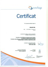 Certificate Catas si ISO UNIFORM